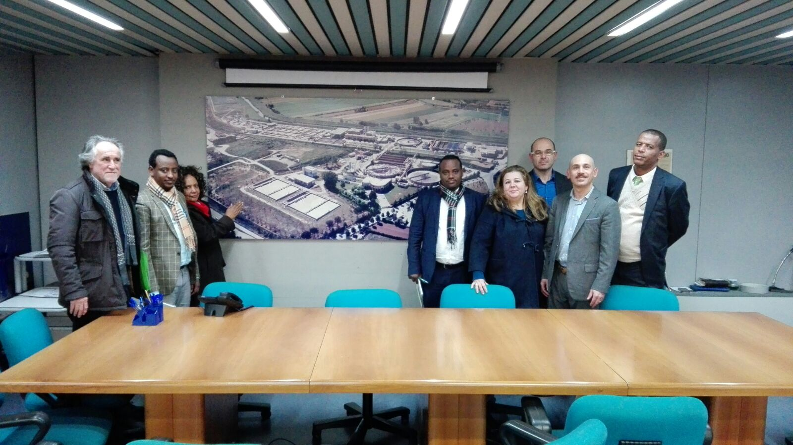 Visit to Aquarno purifier for the Ethiopian government